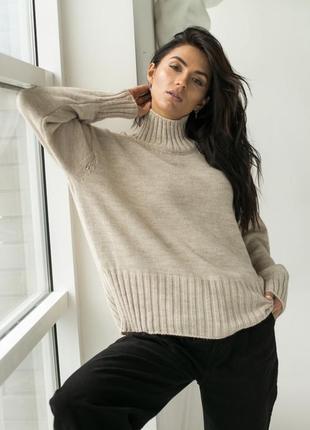 Акція ❤️ свитер теплый с горлом❤️