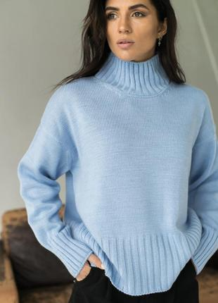 Акція ❤️ свитер теплый с горлом❤️5 фото