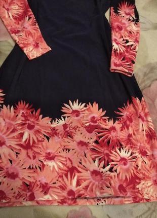 Красивенное трикотажное платье