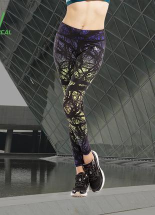 Cпортивные лосины для фитнеса, код:1152, леггинсы для спорта, спортивная одежда, штаны