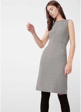 Жіноча сукня в гусячу лапку