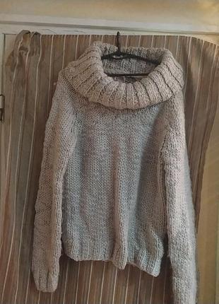 Mossimo supply co обьемный теплый свитер р.44-48 пог-50см