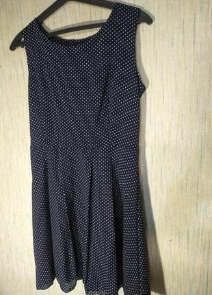 Супер платье в горошек