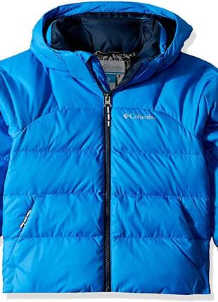 Зимняя куртка- пуховик columbia, размер л (подросток), рост 158-164 см.