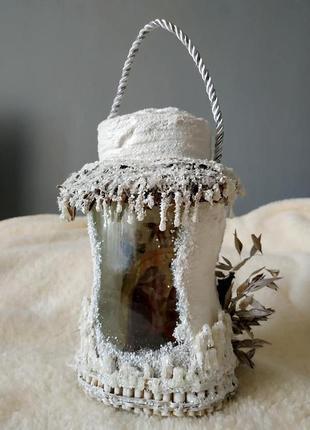 Баночка-шопка на водохреща ручної роботи