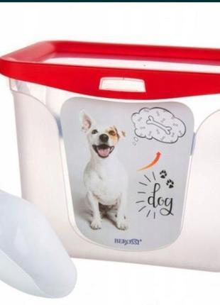 Контейнер для корма, емкость для хранения корма для животных