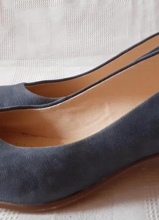 Clarks кожаные туфли шкіряні туфлі р. 37