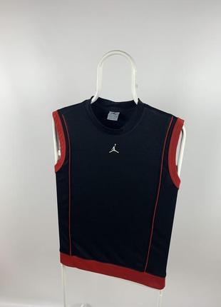 Оригинальная винтажная майка футболка nike jordan vintage