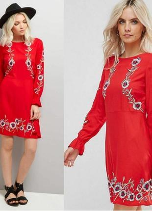 Сукня з вишивкою /вишиванка
