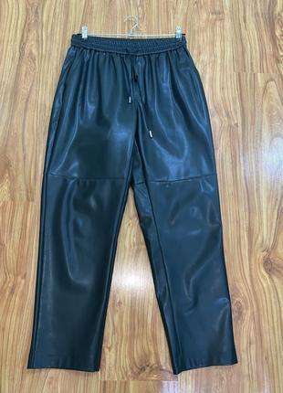 Кожаные штаны эко кожа