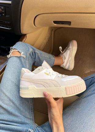 Кросівки puma cali beige кроссовки