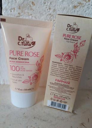 Крем для лица pure rose