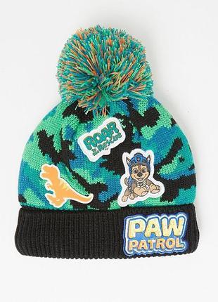 Зимняя шапка на мальчика щенячий патруль paw patrol george