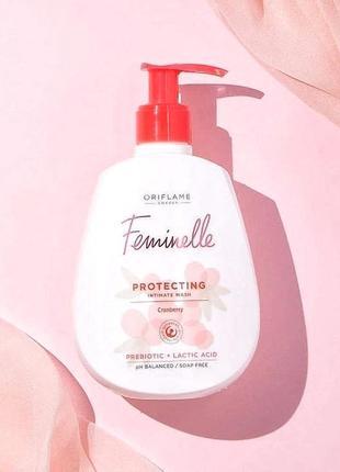 Защитный гель для интимной гигиены feminelle(300мл)