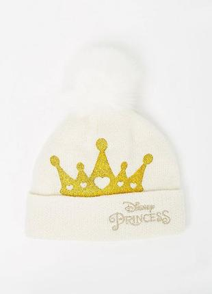 Зимняя шапка на девочку disney princess george англия