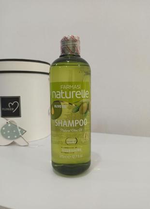 Шампунь для сухих волос оливка