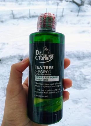 Шампунь с экстрактом чайного дерева dr. tuna farmasi