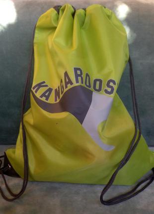 Kangaroos ® рюкзак-мешок с принтом размер one size
