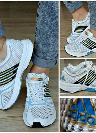 Кроссовки adidas climacool(adiwear, torsion system)оригинал как новые  дышащие 36-37р