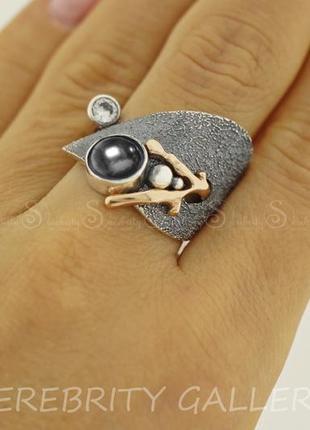 Кольцо серебряное i 169214 bk bk.w.gd 18 серебро 925