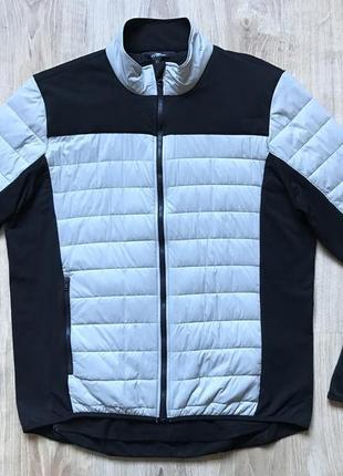 Мужская вело куртка велорашгард  веловетровка crane xl