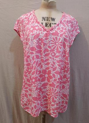 Блузка из натуральной вискозы comma