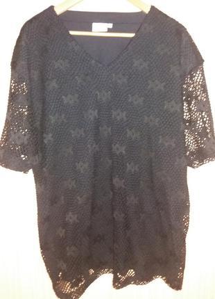 Нарядная супер блузка большого размера