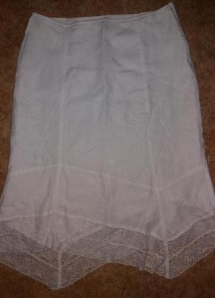 Красивая летняя юбка коттон