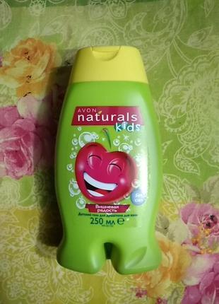 """Детский гель для душа / пена для ванн """"вишневая радость"""" avon naturals kids"""