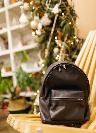 Черный кожаный рюкзак хх, женский рюкзак из натуральной кожи