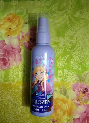 Детская ароматическая вода - спрей для тела avon from  the movie disney frozen