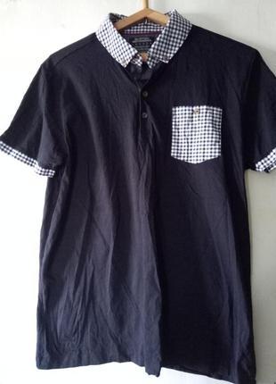 Фирменная футболка-поло