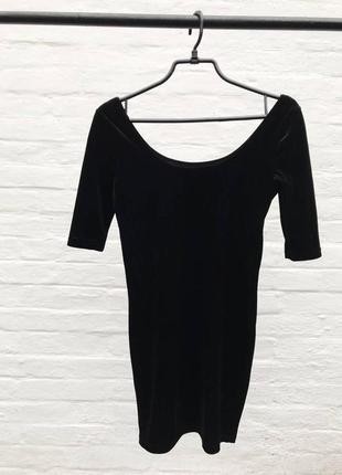 Бархатное платье от new look