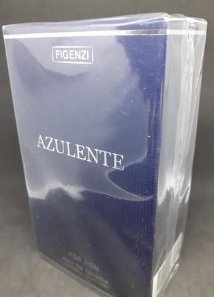 Одеколон figenzi azulente для элегантных мужчин