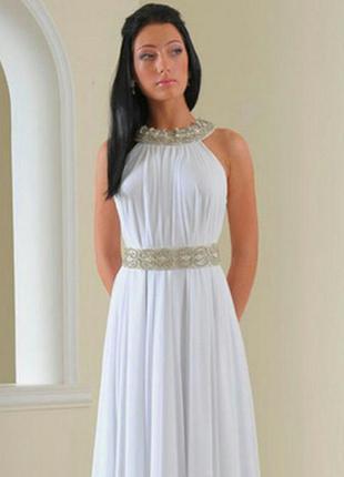 Недорогие платья в греческом стиле белые