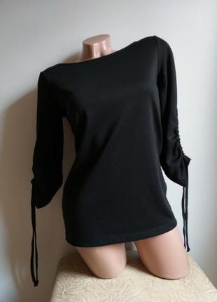 Лонгслив. блуза. туника. черный.