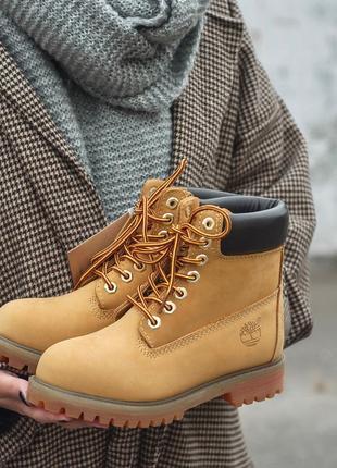 Крутые термо ботинки timberland