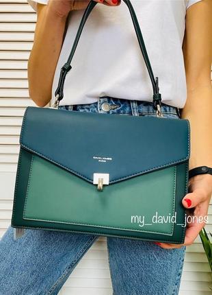 Бесплатная доставка #6409 david jones стильная яркая сумка кроссюоди