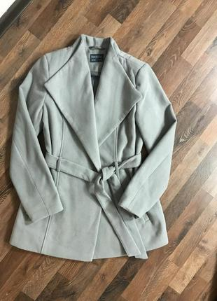 Пальто серое ,короткое blue motion