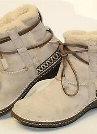 Мегаудобные угги натуральный замш, овчина / зимние ботинки ugg оригинал в идеале