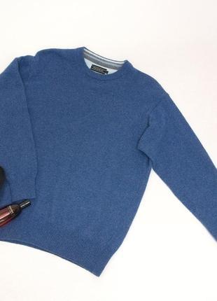 Мужской шерстяной свитер, джемпер, citta' di milano. италия. шерсть.