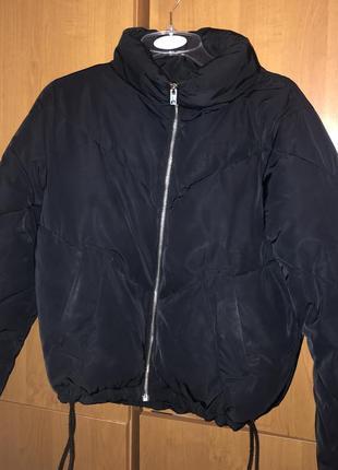 Куртка пуховик черная h&m