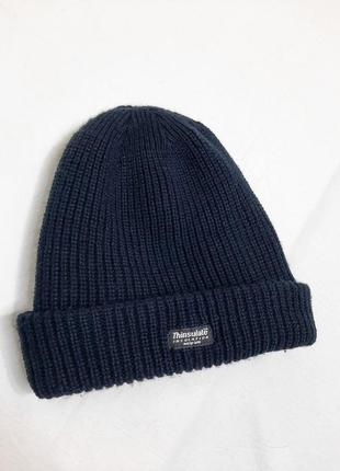 Теплая шапка с утеплителем  thinsulate insulation 40 gram