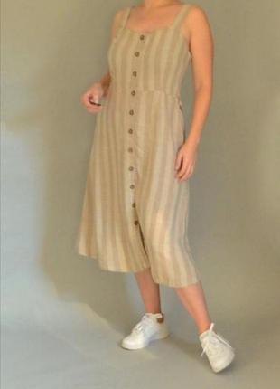 🖤стильное платье под лён nutmeg🖤