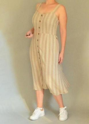 🖤стильное платье под лён nutmeg🖤2 фото