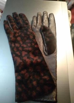 Перчатки женские armani,  италия