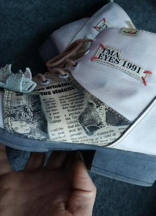 Шикарные ботинки tma eyes, кожа