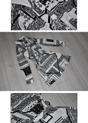 Легкое платье миди рубашка с открытыми плечами и поясом размер s atmosphere