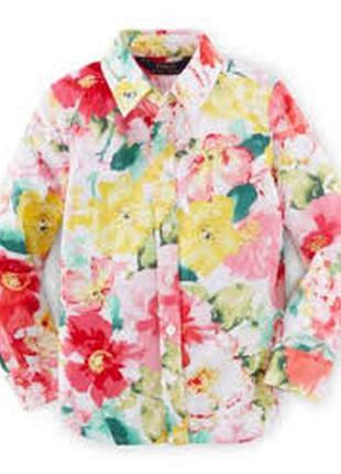 Рубашка ralph lauren р-р 6x на 6-7 лет оригинал в подарочной упаковке
