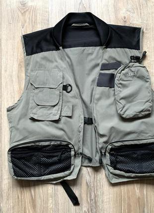 Мужской жилет разгрузка для охоты и рыбалки